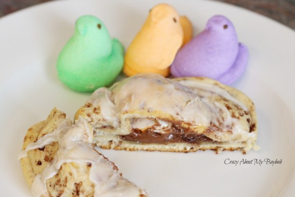 Peeps in a Blanket| Peeps Recipe | Easter Breakfast Rolls