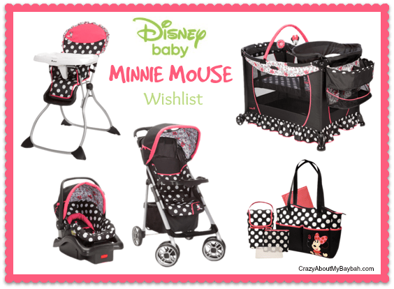 Disney Baby MINNIE MOUSE Wishlist #DisneyBabyGifts