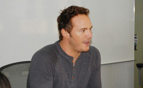 Chris Pratt Talks About Being Peter Quill Star-Lord #GuardiansoftheGalaxyEvent