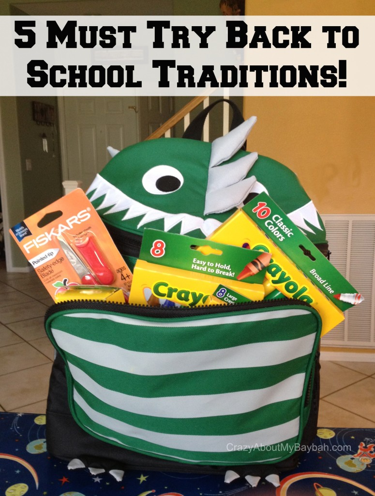 5 Must Try Back to School Traditions