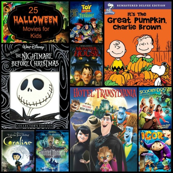 25 Halloween Movies for Kids