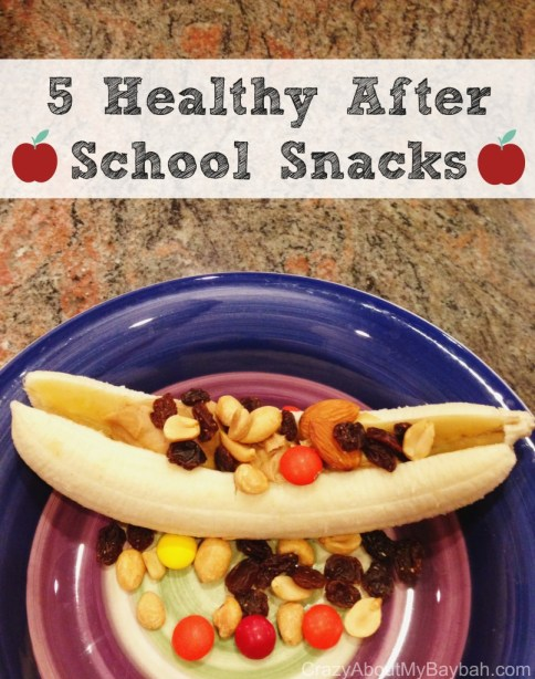 5 Healthy After School Snacks #Recipe #Snacks