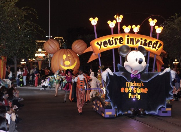 Mickey's Halloween Party during Halloween Time at Disneyland