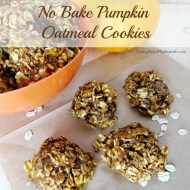 Easy No Bake Pumpkin Oatmeal Cookies Recipe