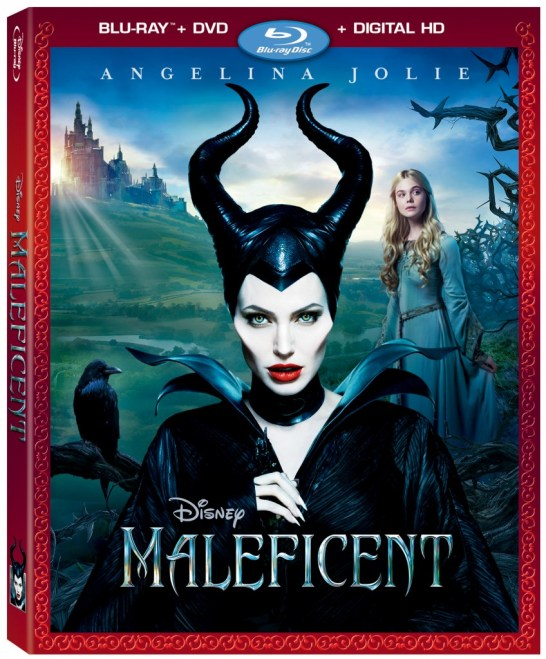 Maleficent Bluray and DVD Combo Pack