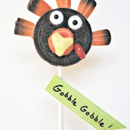 Oreo Turkey Pops | Thanksgiving Treat for Kids