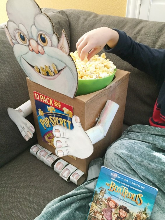 Boxtroll Craft | Make Your Own Boxtroll for Family Movie Night