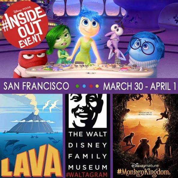Disney Pixar's Inside Out Event