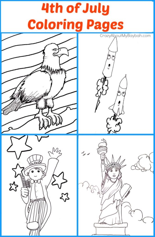 Free Printables: 4th of July Coloring Pages