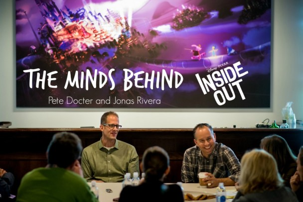 Filmmaker roundtable with Pixar's Director Pete Docter & Producer Jonas Rivera