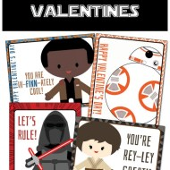 The Force Awakens Free Printable Star Wars Valentines