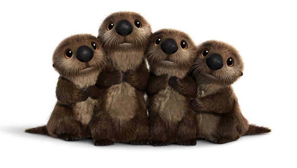 Sea Otters Finding Dory