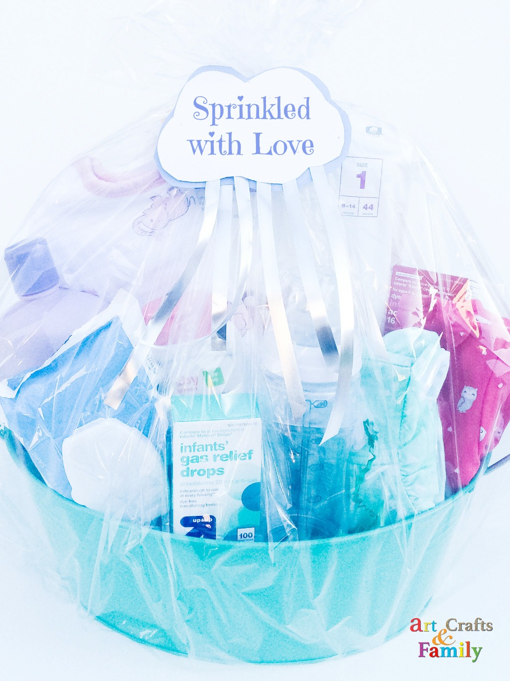 Baby Sprinkle Gift Basket | Baby Essentials