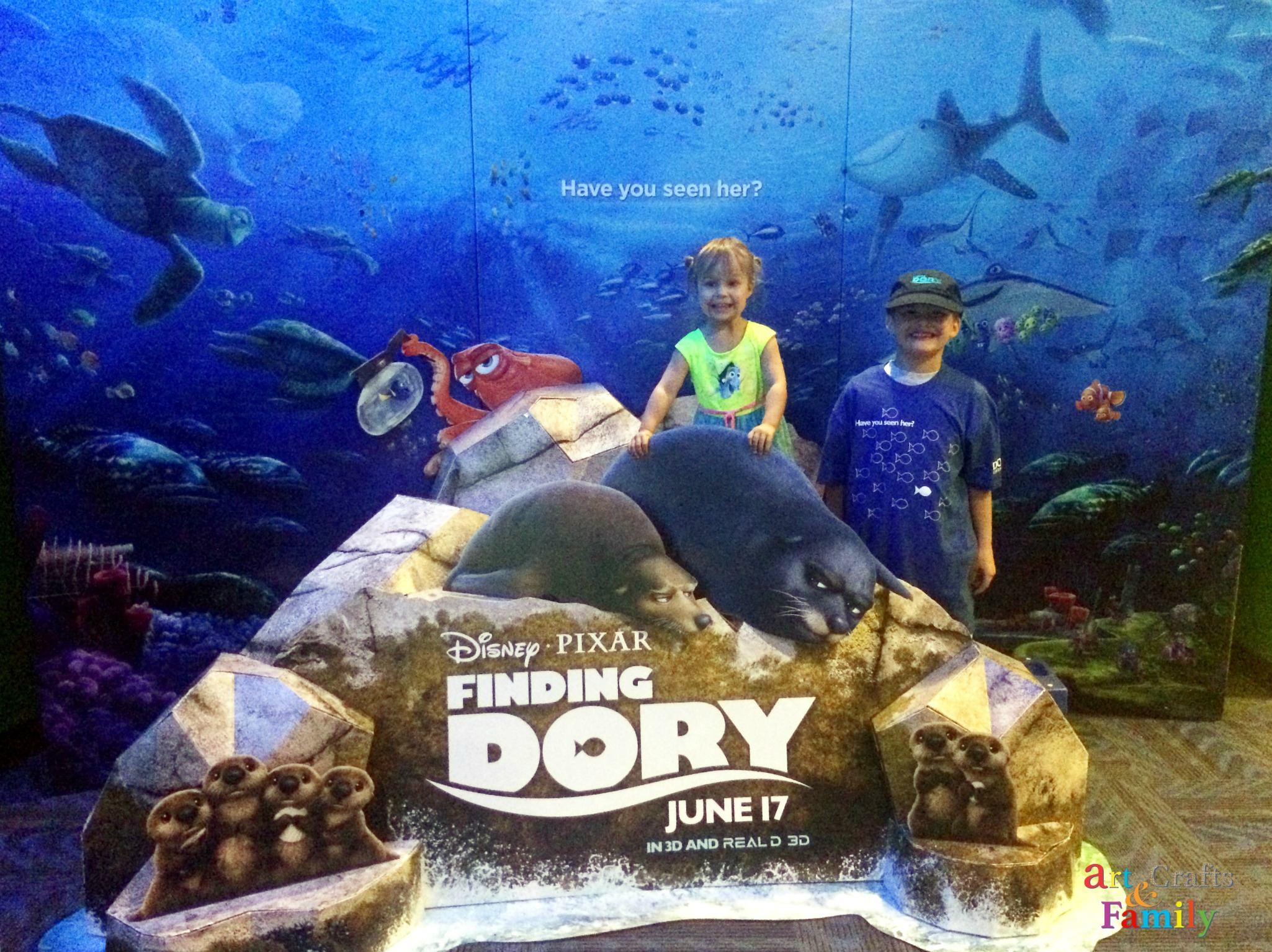 Finding Dory is in theaters everywhere