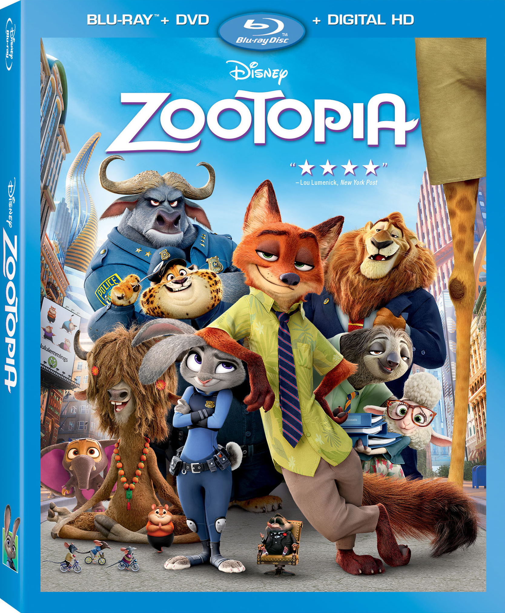 Disney Zootopia is not out on Blu-ray and DVD!