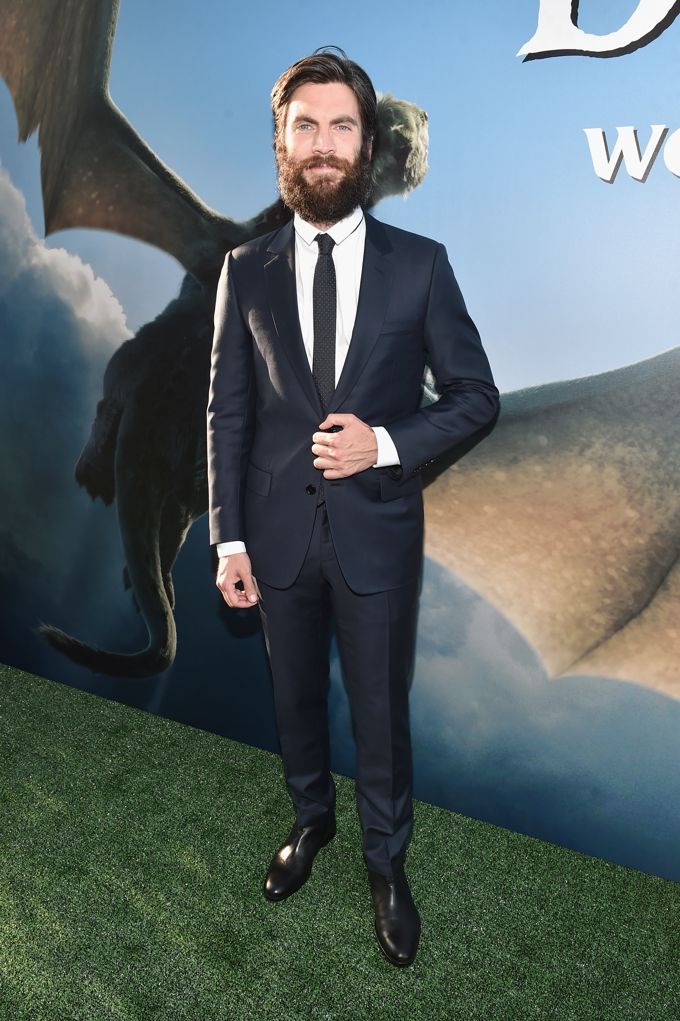 Wes Bentley at the Pete's Dragon World Premiere