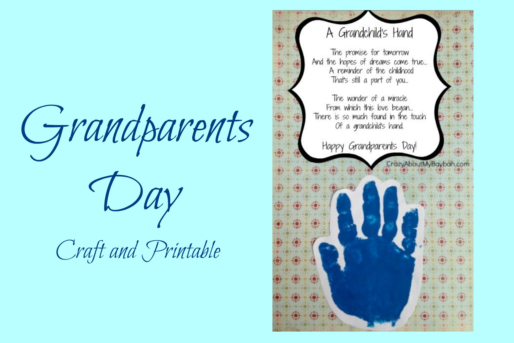 Grandparents Day Craft Ideas For Kids Part - 38: Art Crafts U0026 Family