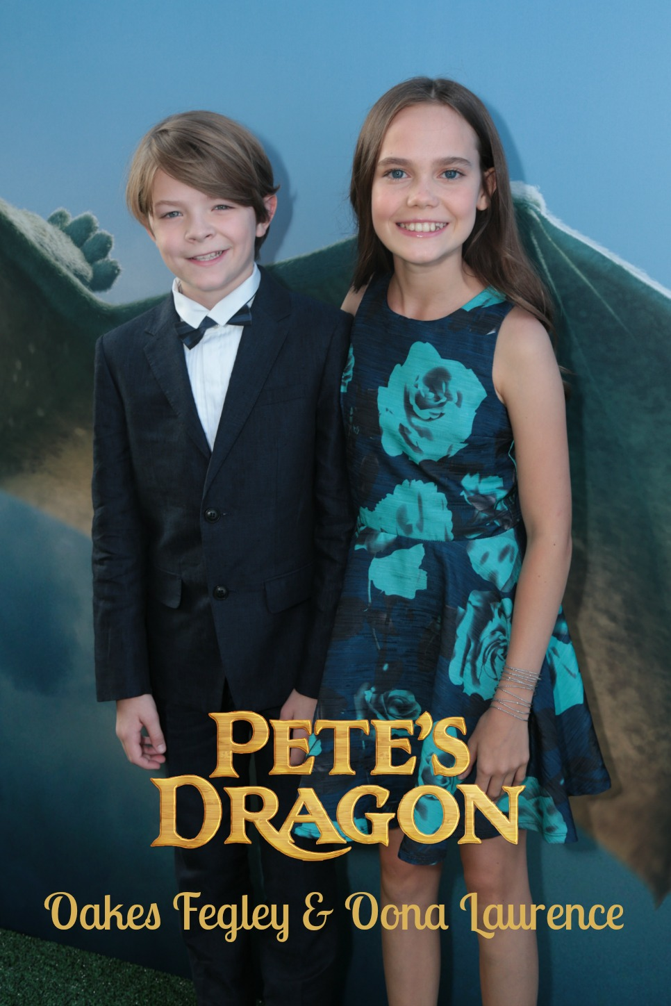 Ten Fun Facts from Pete's Dragon Stars Oakes Fegley and Oona Laurence!
