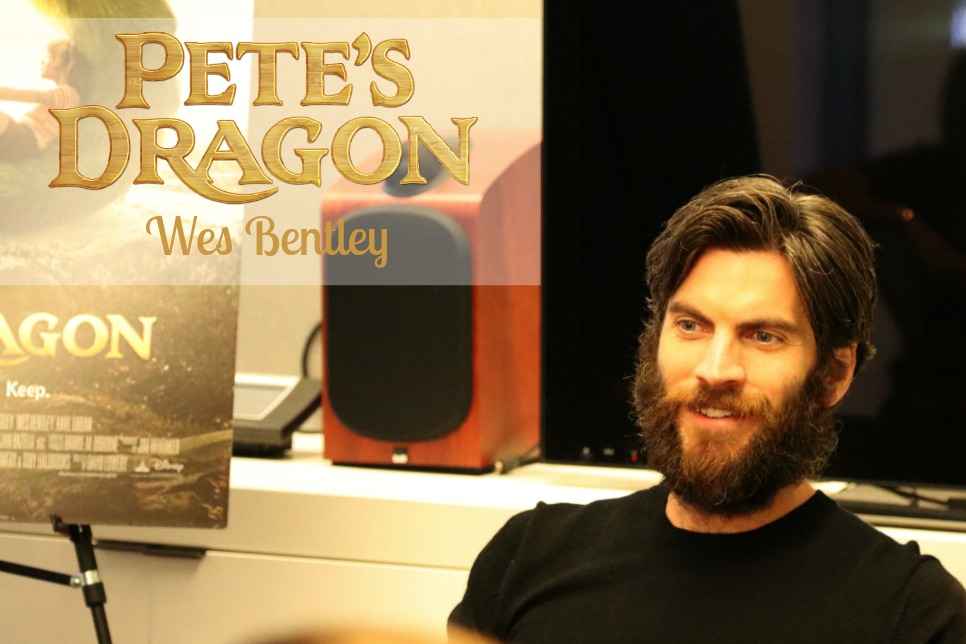 A Chat with Wes Bentley about what it was like being in Pete's Dragon.