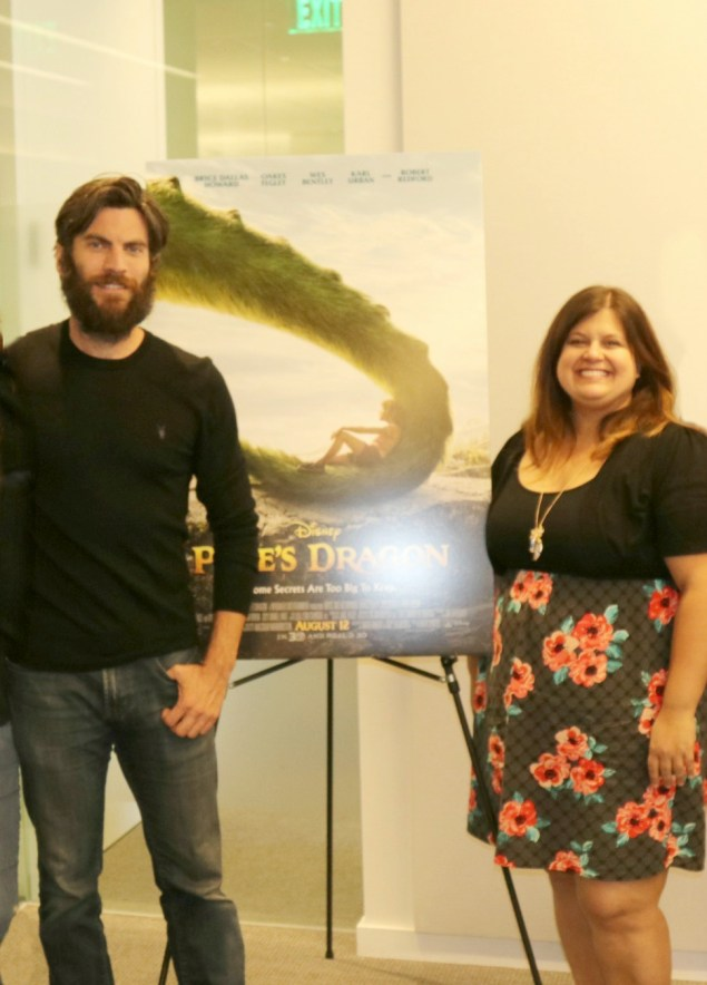Wes Bentley talks about being in Pete's Dragon!