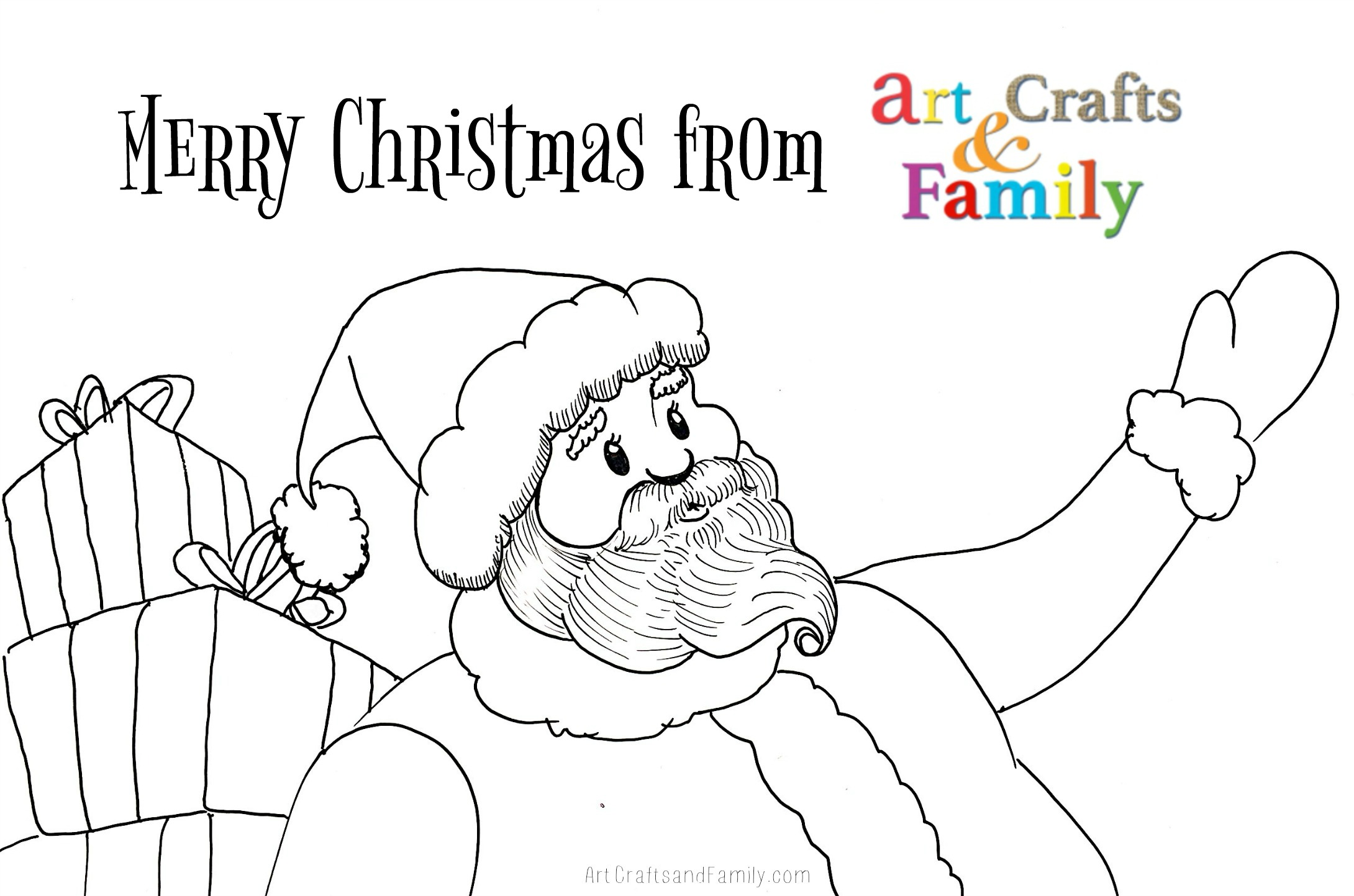 photograph relating to Free Printable Christmas Art titled No cost Printable Xmas Coloring Internet pages - Artwork Crafts Household