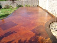 Pin Stained Concrete Patio on Pinterest