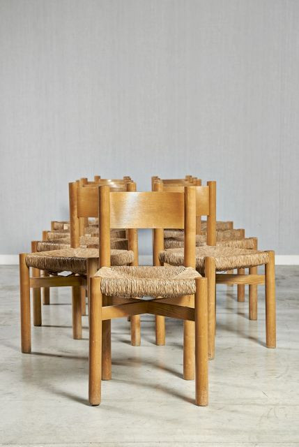 chaises par charlotte perriand