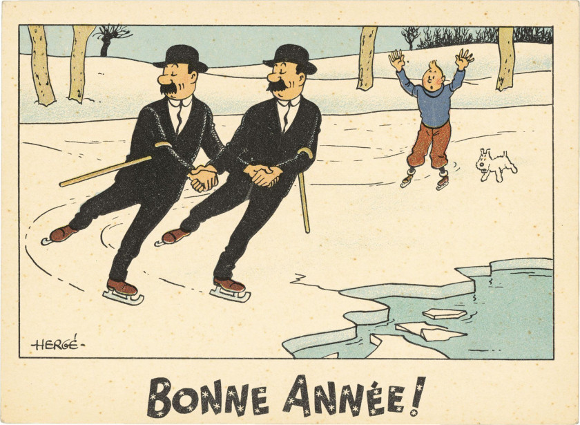 the universe of the creator of tintin