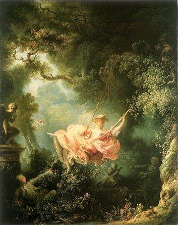 Jean-Honore Fragonard: The Swing