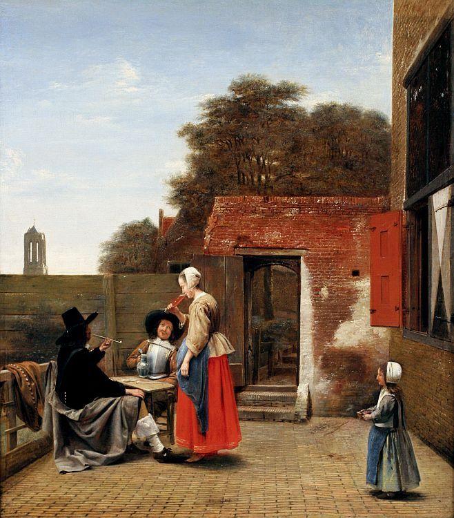 """""""A Dutch Courtyard"""""""