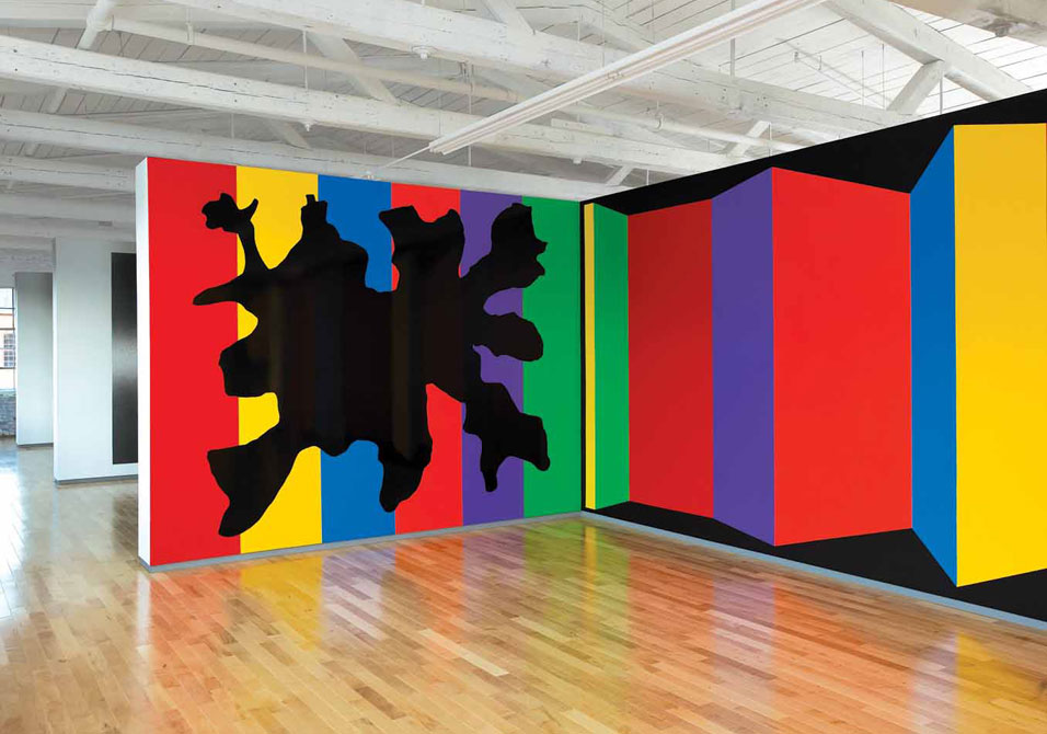 Wall Drawing 1081 (detail), 2003; Courtesy of the Estate of Sol LeWitt.