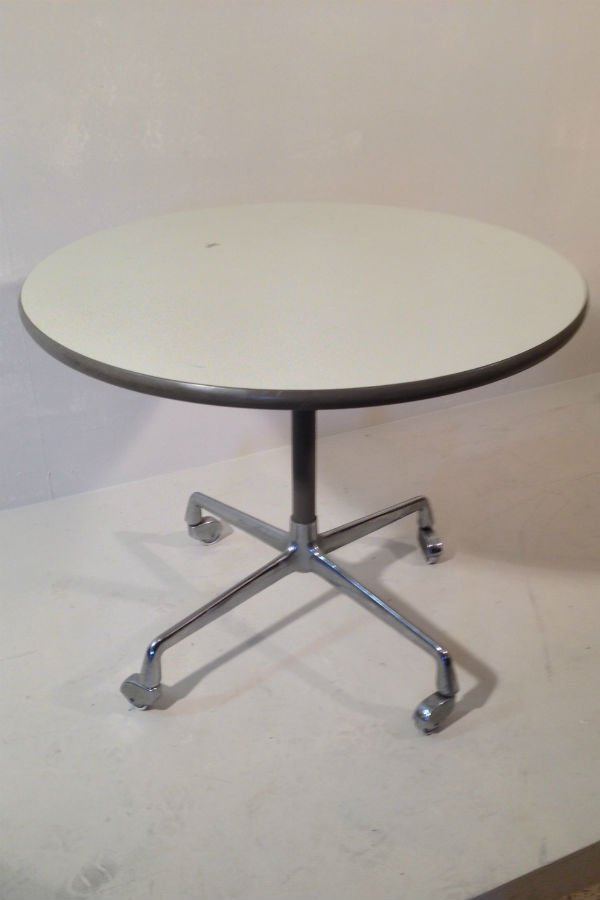 coffee table on wheels by charles ray