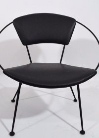 'Hoop-Chairs' by John Hauser for Ironworks, 1950s, Set of 4