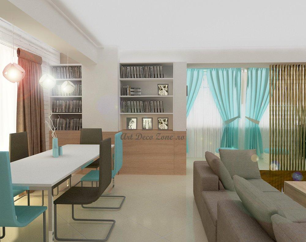 Design Interior Baie Moderna