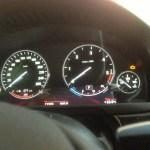 Doposażenie BMW 525D (F10 2011) liczniki rozszerzone kod 6WA