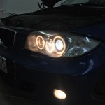 Doposażenie w lampy LCI w BMW E87 z 2006