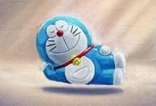 Doraemon reaches Nirvana