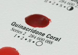 Quinacridone Coral WC Dot, 238