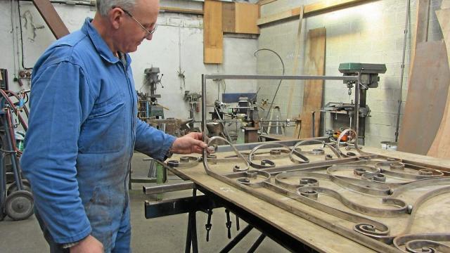 Patrick Roger, ferronnier et orfèvre du bâtiment