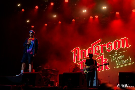 Anderson .Paak & The Free Nationals no Super Bock Super Rock