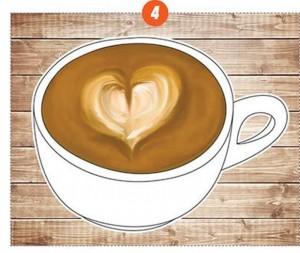 corazon de arte latte