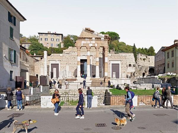 Alfred Seiland, Il Capitolium di Brixia, Brescia, Italia, 2019