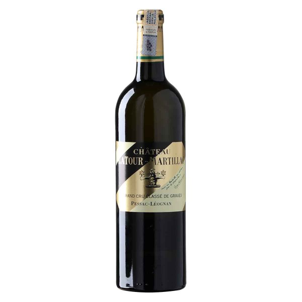 Chateau Latour-Martillac Blanc, Pessac-Leognan, pale yellow colour, complex, aromas of floral, passion fruit and lemon. Palate is beautifully fresh, fruity, aromas of white peach