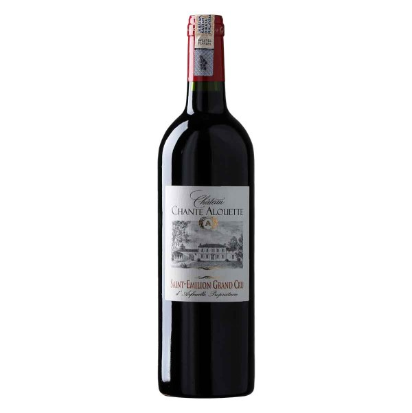 Chateau Chante Alouette, Saint-Emilion Grand Cru red wine. The color of this 2013 is carmine red adorned with pretty ruby reflections. On the nose, aromas of black cherries and warm spices mingle, inviting discovery. This aromatic velvety is found in the mouth with a final freshness full of finesse enhanced by a vanilla note. A tasty wine to discover without hesitation in its youth.