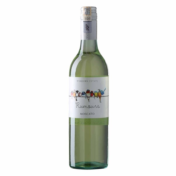 Warburn Estate Rumours Moscato from Australia, Colour: Straw with green hues emerging. Nose: Floral scents combine with fresh lime and citrus notes. Palate: Vibrant fruits fill the palate.
