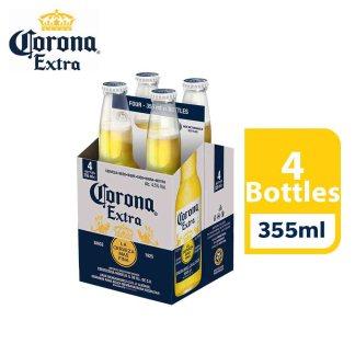 Corona Extra Beer (355ml x 4 pints)