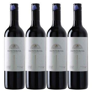 Monterosa Merlot Malbec 4's Pack