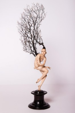 Fabrizio Corbo, Alcyonacea - Movimento 2, 2016, gorgoniae pasta polimerica, cm 46x26x11