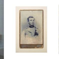 Gabriele Grones, Frammenti (trittico), 2014, olio su tela, cm 30x70 (dimensioni delle singole opere cm 30x22; 23,5x16; 25x20)