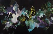 Chen Li, Il rumore del silenzio, 2016, acrilico su tela, cm 80x120